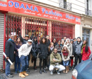 Paris Tours students in La Goutte d'Or