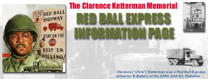 Red Ball Express stamp June 6 1994