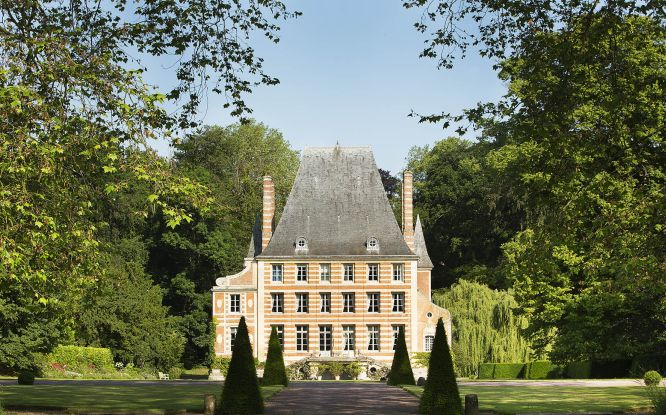 chateau in normandy with gardens in Normandy vacation packages accomodations