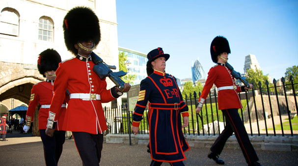 Changing of the Guards on Walking The Spirit Tours Day Trip to London